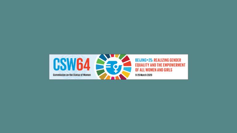 CSW64/ Beijing+25 (2020) -March 9-20